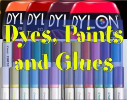Glues, Dyes & Paints