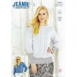 Stylecraft Jeanie Denim Look - Sweater Pattern 9494