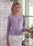 Stylecraft Summer Breeze - Woman's Cardigan 8729