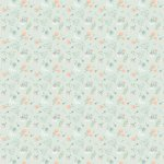 Woodland Songbird - Mint Floral Fabric