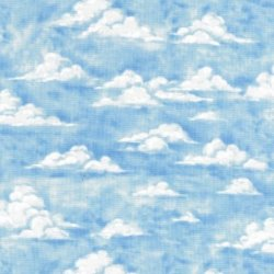 Sky - Patchwork Fabric from Nutex (86530-102)