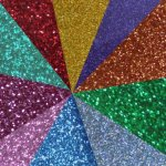 Heat Applied Glitter Film Multi Packs Quarter sheets