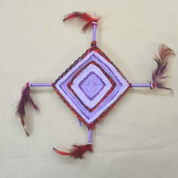 God's Eyes Ultraviolet Kits, Weaving Yarn, Fun for Kids!
