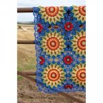 Fields of Gold Crochet Blanket Pattern by Janie Crow