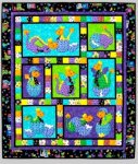 Hatched QLT043 Quilt Pattern from Kids Quilts