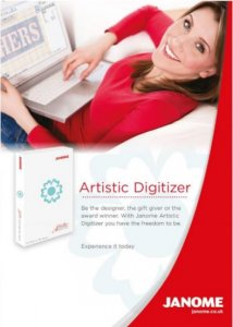 "NEW Janome Artistic Digitizer Software - Full and ""Junior"" Versions available"