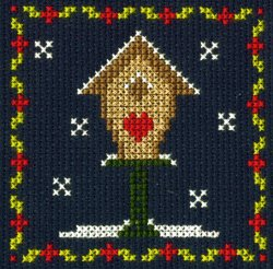 DMC Cross Stitch Birdhouse BK9989I