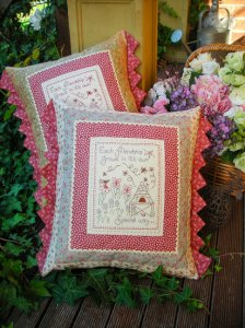 The Rivendale Collection by Sally Giblin - Friendship Grows - Cushion Pattern