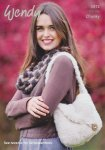 Wendy Eider Chunky Cowl, Bag and Wrist Warmers Pattern 5972