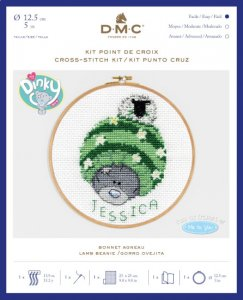 DMC Me To You Cross Stitch BL1162/72 Lamb Beanie