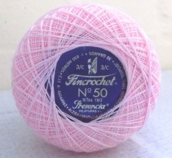 Fincrochet 50g No. 50 - Colour 1724 (Pink)