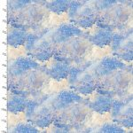 Ray Of Hope Blue Sky Fabric