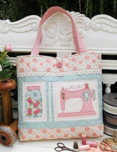 The Rivendale Collection by Sally Giblin - Old Gertie Bag Pattern