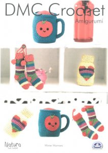 DMC Crochet Amigurumi Natura Just Cotton - Winter Warmers 15316L/2