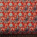 Funky Flowers FF104/1 Floral by Fabric Freedom