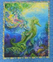 3 Wishes Mystic Ocean designed by Josephine Wall