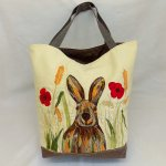 Sally's Autumn Hare Pattern Designed by Purple Boots