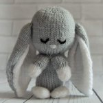 Knitting By Post - Baby Bunny Double Knit Pattern