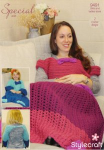 Crochet Princess Blanket in Stylecraft Special Aran 9491