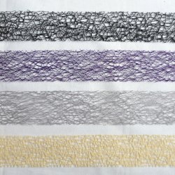 Toile D'Araignee (Spider's Web) Lace Ribbon in Four Colours