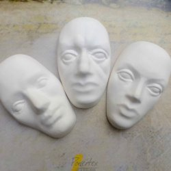 Plaster Enchanted Faces