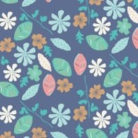 Woodland Floral from Fabric Freedom