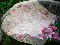 The Rivendale Collection by Sally Giblin - Hearts-a-Bloom - Quilt Pattern