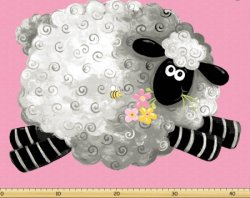 Lal, the Lamb Play Mat SB20200-520 by Susybee