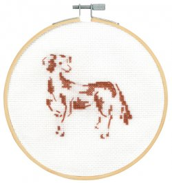 DMC Cross Stitch Attentive Spaniel BK1886