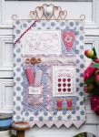 The Rivendale Collection by Sally Giblin - The Sewing Room Wall Hanging Pattern