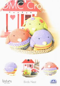 DMC Crochet Amigurumi - Birds Nest 15097L/2