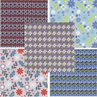Retro Floral by Fabric Freedom