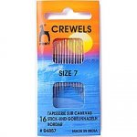 Pony Gold Eye Sewing Needles: Crewels Size 7 (P04857)