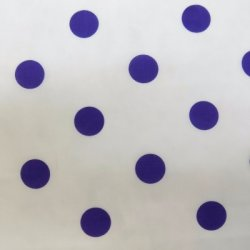 Cotton Poplin Large Dots - Purple