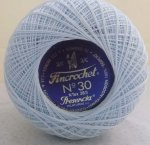Fincrochet 50g No. 30 - Colour 3299 (Light Blue)