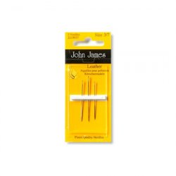 John James Leather Needles Size 3/7 JJ18037