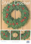 DMC Crochet - Festive Holly Garland