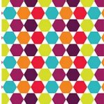 Zoom 239/3 Hexagons from Fabric Freedom