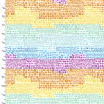 Summer Song Mosaic Sky Quilting Fabric 17272-MLT-CTN-D