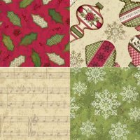 Christmas Wishes from Clothworks Fabrics