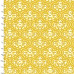 Summer Song Yellow Toile Quilting Fabric 17270-YLW-CTN-D