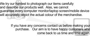 ebay photography disclaimer