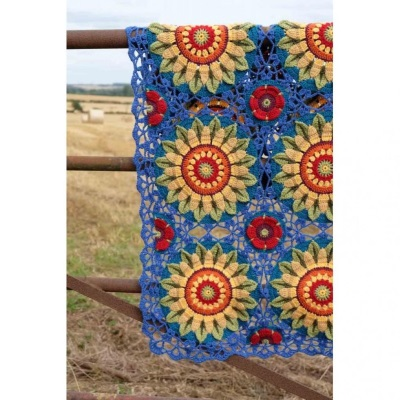 Fields of Gold Crochet Blanket Pattern by Janie Crow - Click Image to Close