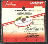 SewEasy 6in Patchwork Ruler