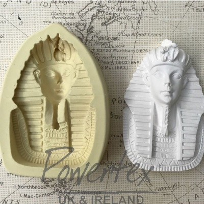 Tutankhamun - Powertex Silicone Mould - Click Image to Close