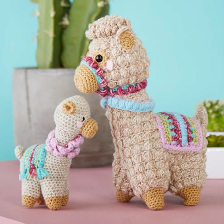 Bobble Stitch tutorial | Amigurumi Alpaca - YouTube | 460x460
