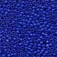 Mill Hill Glass Seed Beads Crayon Royal Blue 02065