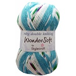 Wondersoft Baby DK Prints by Stylecraft