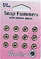 Sew On Snap Fasteners 9mm: Nickel/Silver (hemline H420.9)